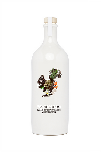 Resurrection Rum Infused with Spice White Edition