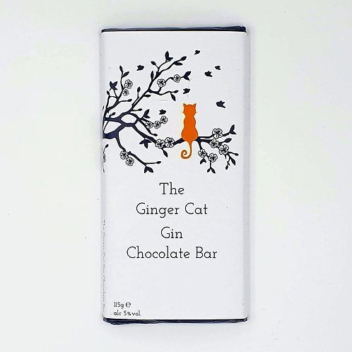 The Ginger Cat Gin Chocolate Bar