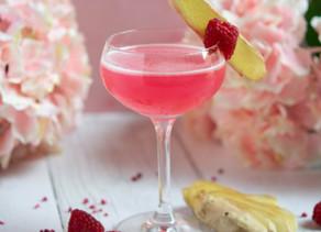 Raspberry & Ginger Gimlet