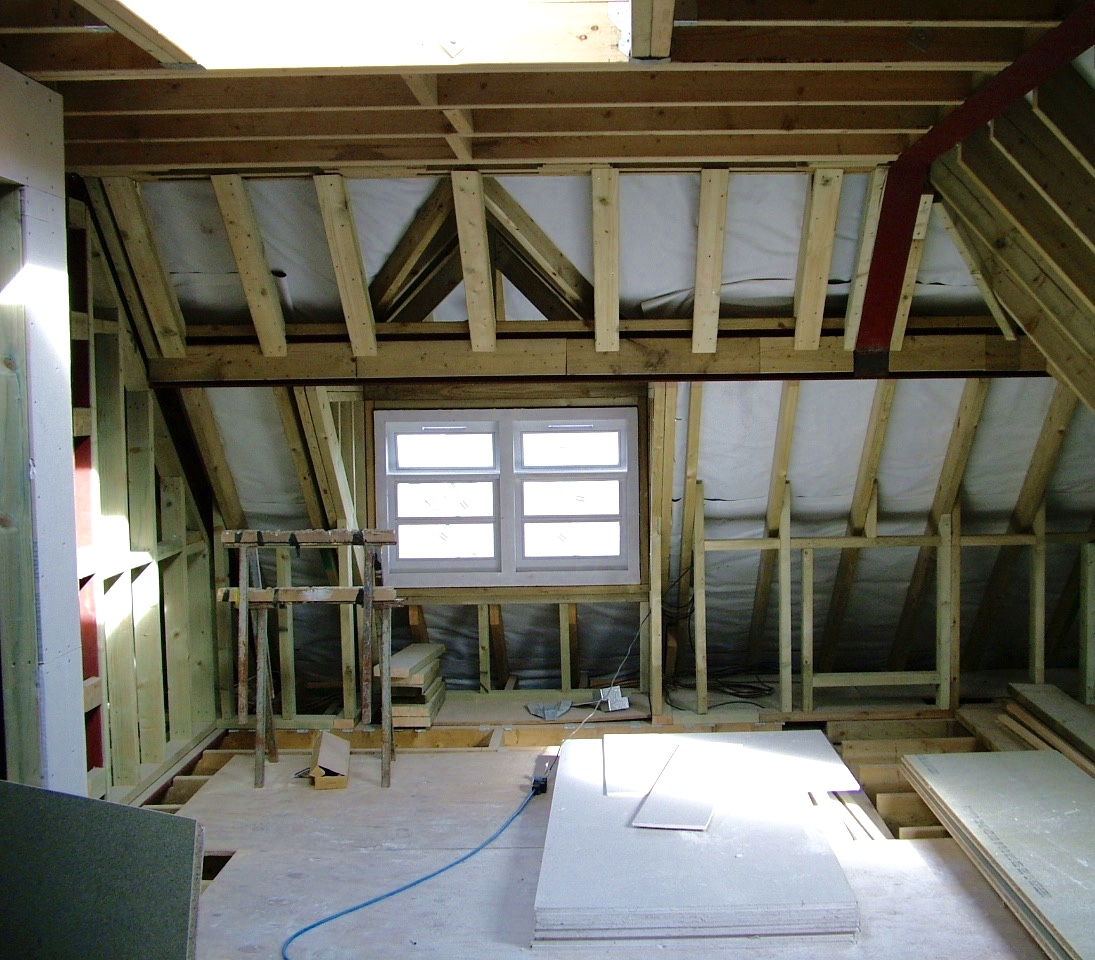 Second Floor Conversion in Progress