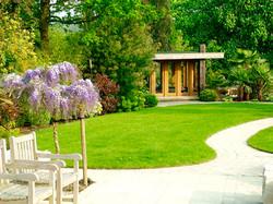 Summer House in Landscaped Garden