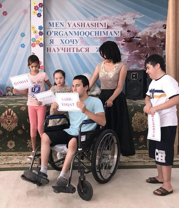 Family's support on diabled children