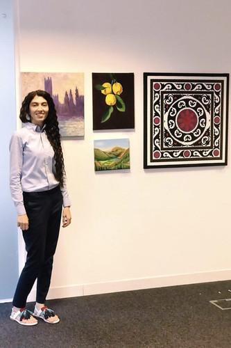 Mrs Guli Sheikh's Exhibition