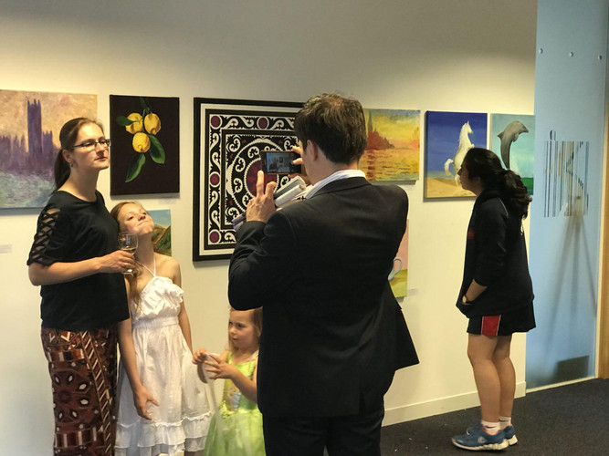 Art Exhibition for the charity