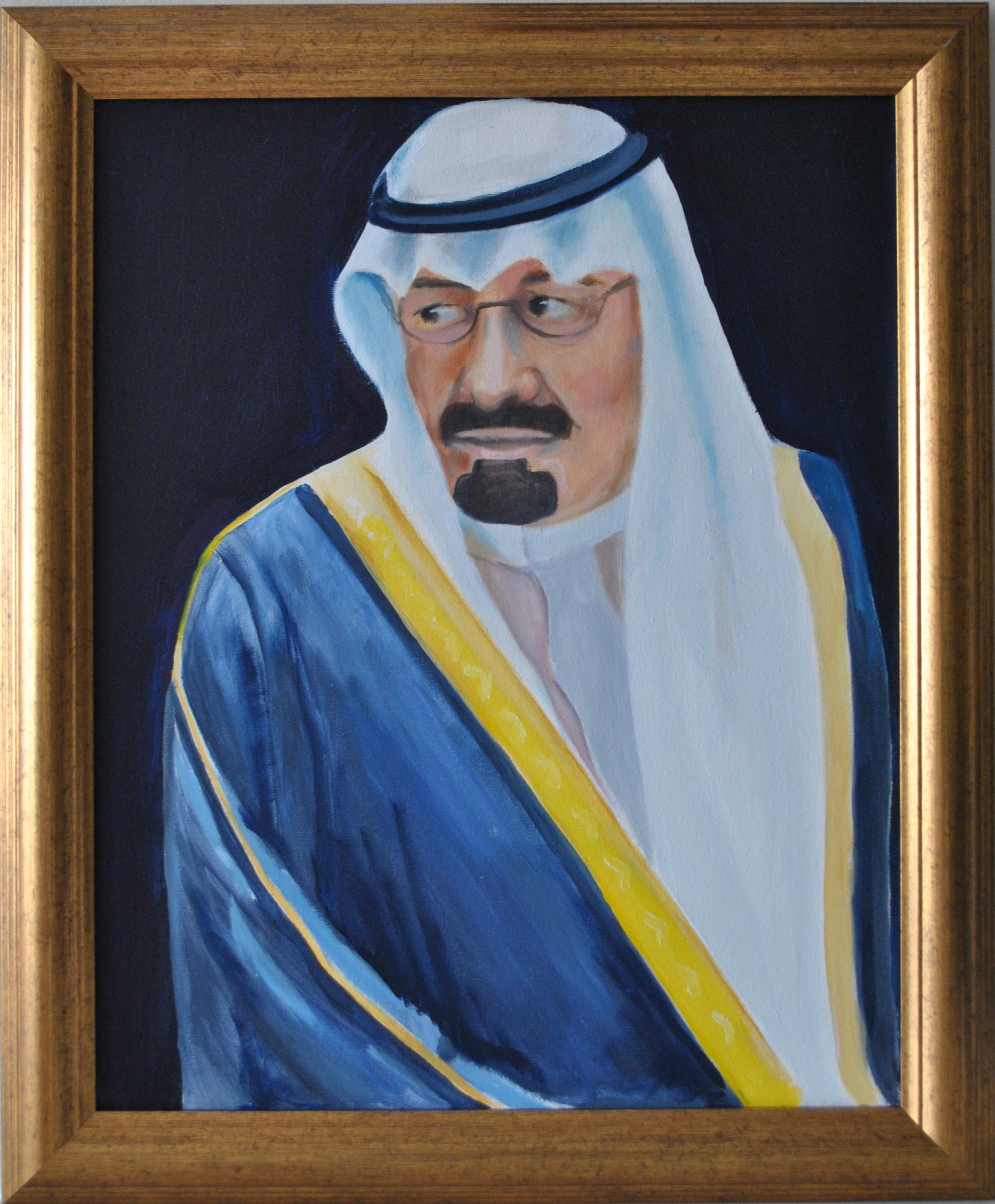 King Abdullah of KSA