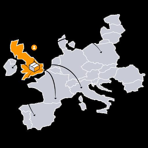 Amazon Europäisches Versandnetzwerk EFN