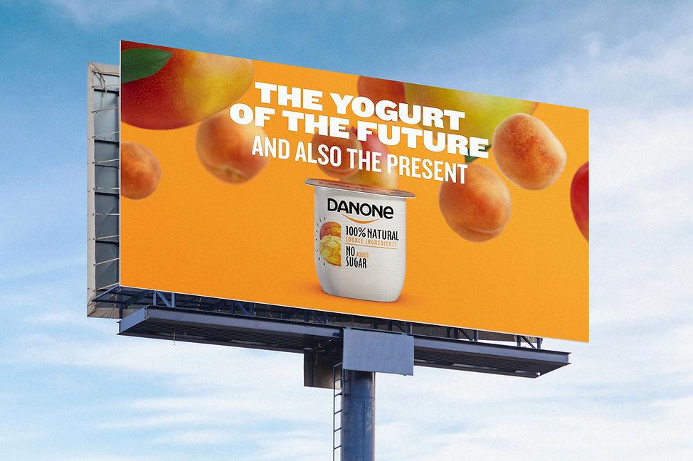 Danone Campaign Billboard