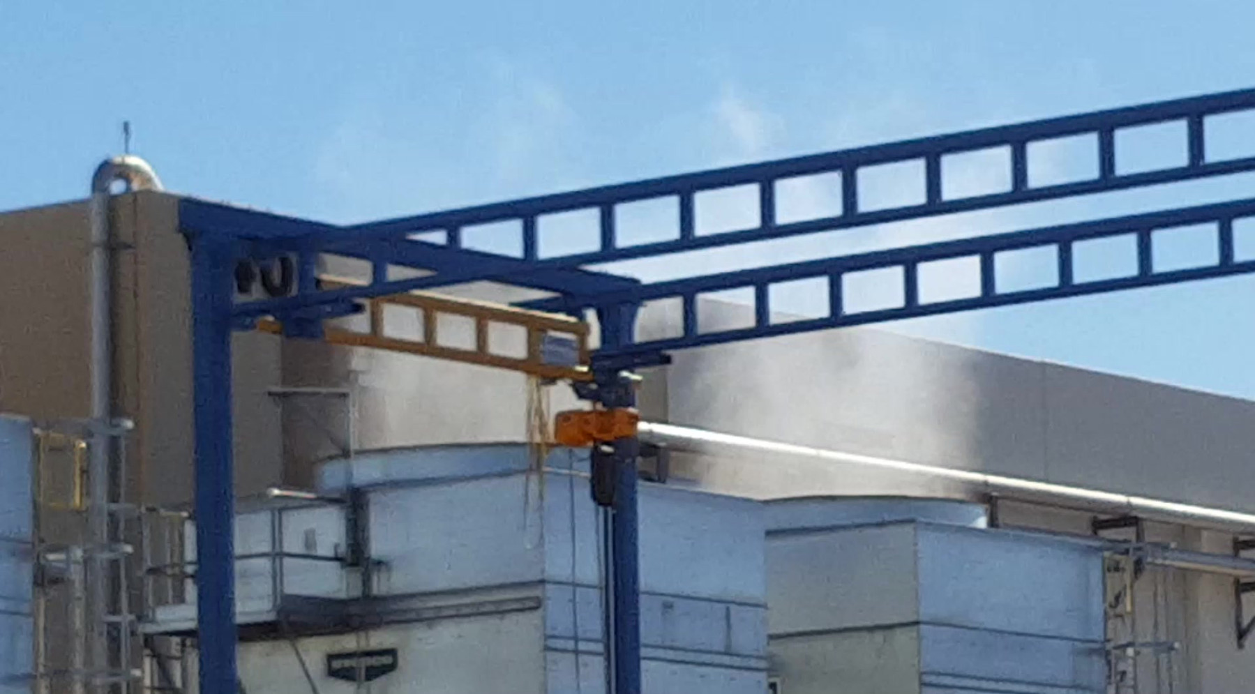 Evaporation on cooling tower