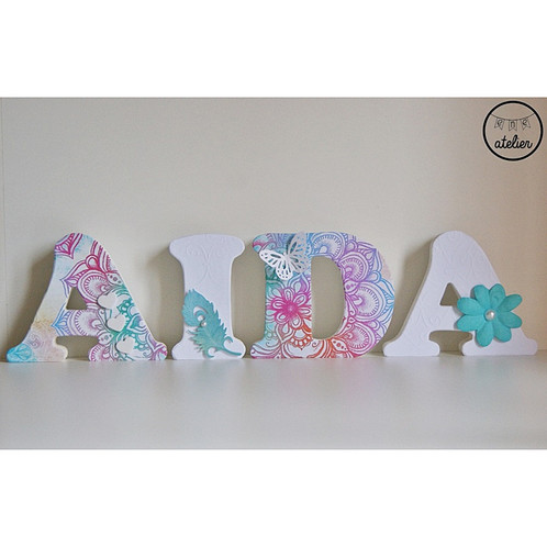 Decorar letras de madera elegant letras de madera decoradas with decorar letras de madera Letras de madera para decorar