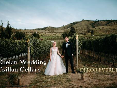 Chelan Wedding Gig Log