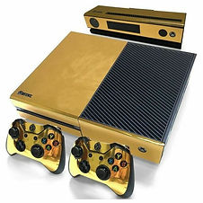 GOLD XBOX WRAP 24k GOLD SHINY VINYL