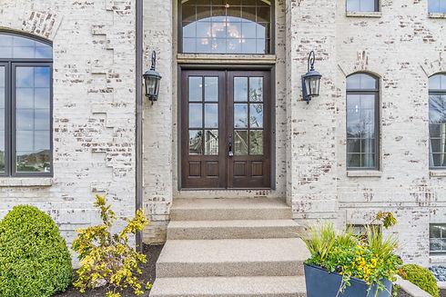 Modern Front Door Photo for Stacey Willis Homes Westfield Indiana Realtor