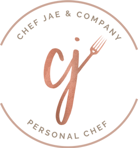 Secondary Logo | Personal Chef Pittsburgh | Chef Jae & Company