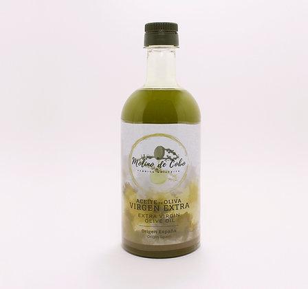 Aceite de Oliva Virgen Extra (SIN FILTRAR) -      Caja 12 botellas 750 ML