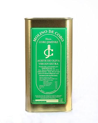 """Aceite de Oliva Virgen Extra """"Filtrado"""" - Caja 4 LATAS 1 L"""