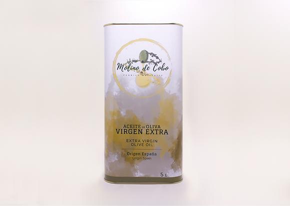 Aceite de Oliva Virgen Extra (SIN FILTRAR) - Caja 3 LATAS 5 L