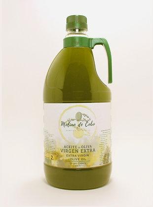 Aceite de Oliva Virgen Extra (SIN FILTRAR) - Caja 6 garrafas 2 L