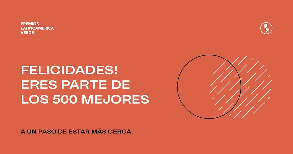 Premio Latinoamerica Verde 2021 para Merinas