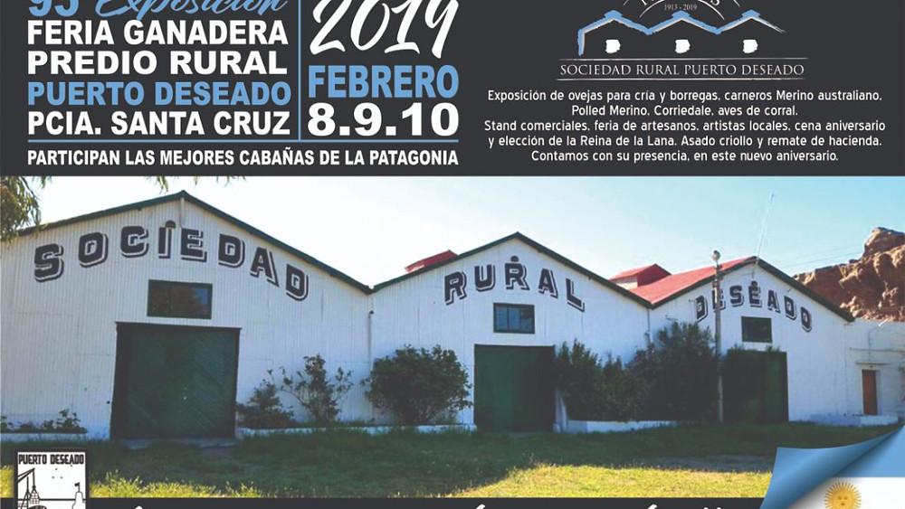 Promoción del compost de Merinas en la 95° Exposición Rural de Puerto Deseado