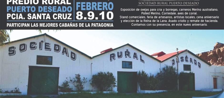 Estuvimos en la Rural de Puerto Deseado
