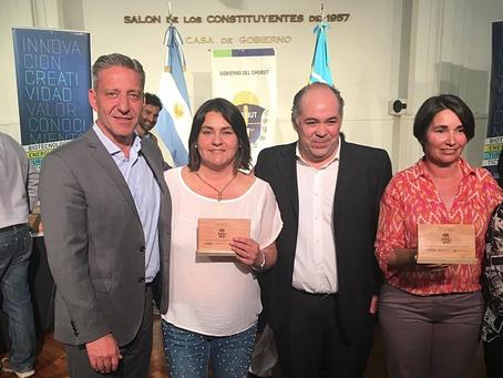 Reconocimiento del Gobierno de Chubut a Merinas