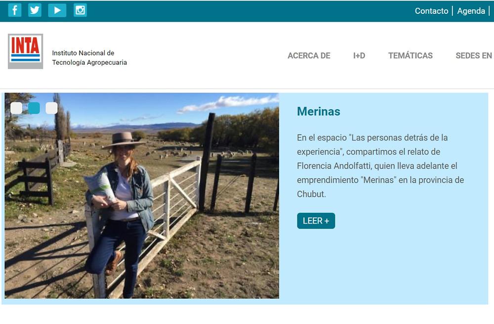 """Ficha de Merinas en el espacio """"Las personas detrás de la experiencia"""""""