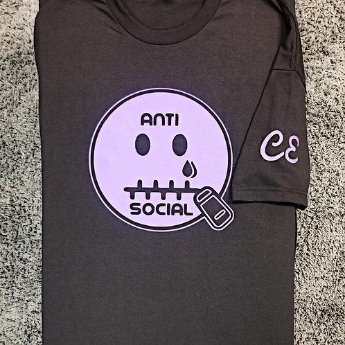 Anti 🤐 Social CE Black & Purple 🍇 Men