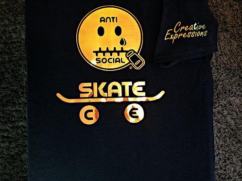 Anti Social Skate CE 🛹 Black and Coper