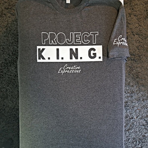 Project 🏚 K.I.N.G. Dark Grey and White