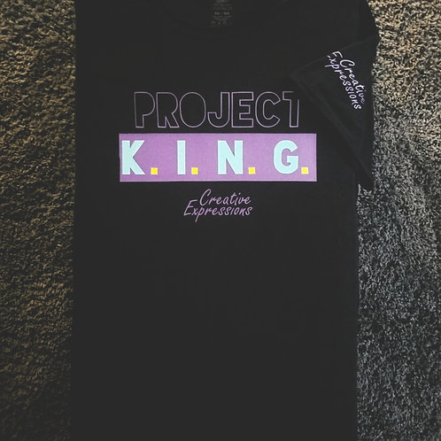 Project 🏚 K.I.N.G. CE Black Purple & Mint