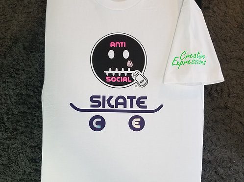 Anti Social Skate CE 🛹 White, Black, Hot Pink, Purple, and Neon Green