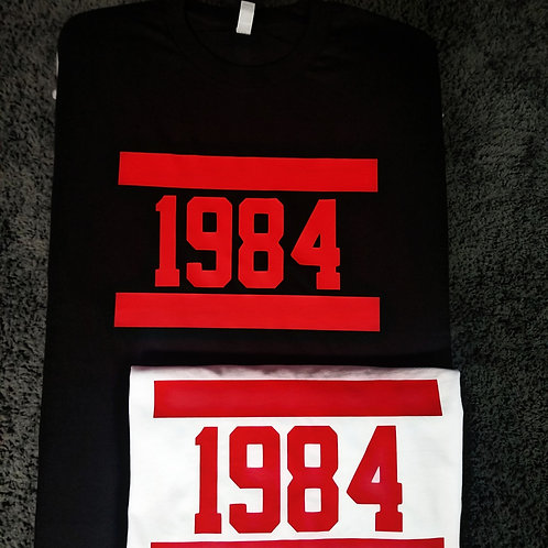 1984 👕 Black and Red