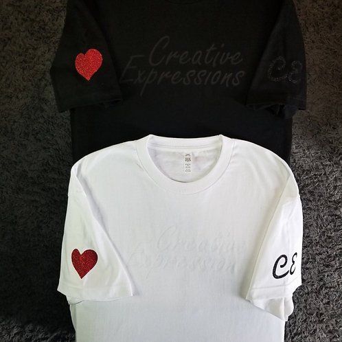 Creative Expressions ❤ T-Shirts Black and White