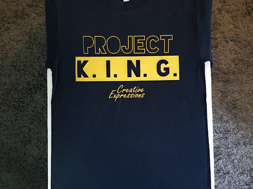 Project 🏚 K.I.N.G. CE Navy and Gold