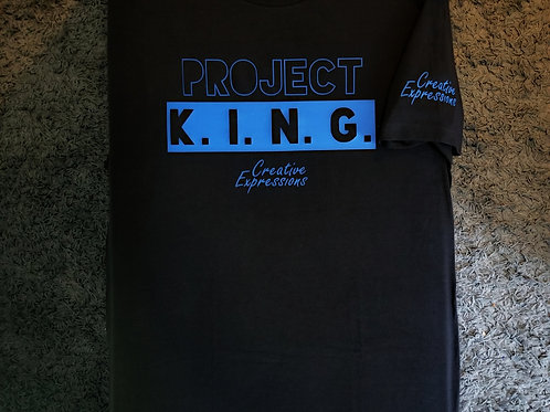 Project 🏚 K.I.N.G. CE Black and Royal Blue