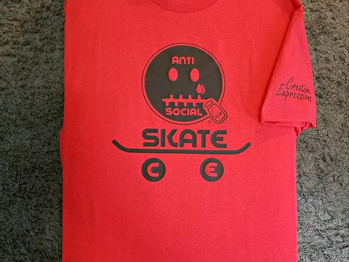 AntiSocial Skate CE 🛹 Red and Black