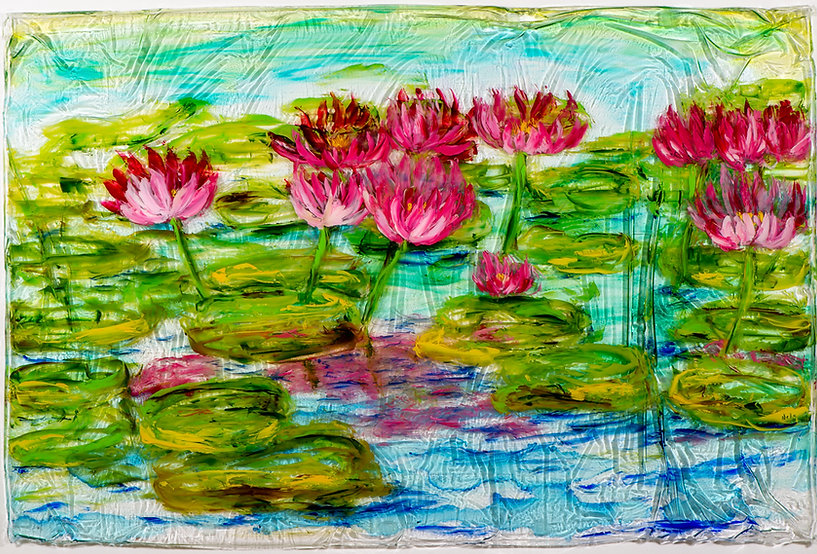 2021 Resin Tropical Water Lillies Cropped 40x30-1 x 1024.jpg