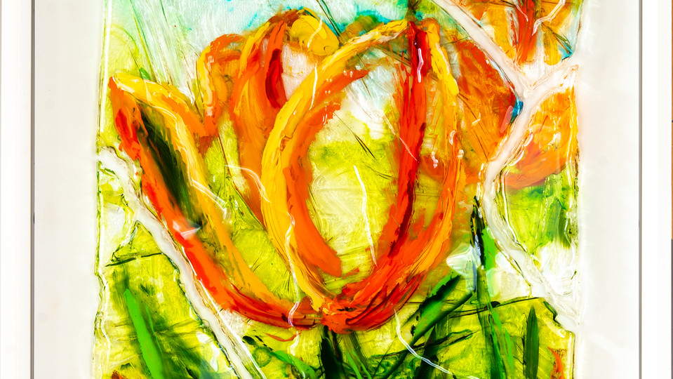 Tulips puzzle I