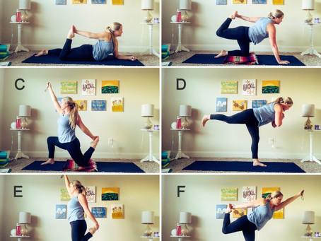 Variations of Dancer's Pose - Let Your Inner Dancer Sparkle