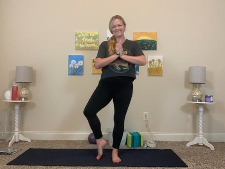 """Tree Pose Variations - """"Go Out On a Limb"""" by Trying Something Different"""