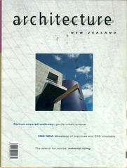 Carr House - Arch NZ Jan-Feb 1996 Cover.
