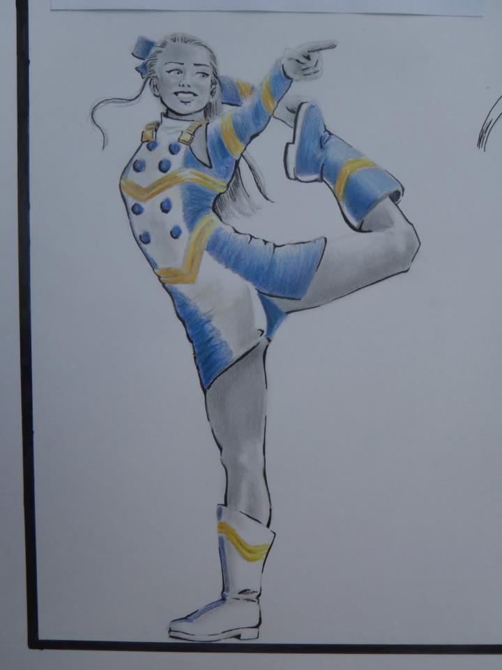 Character Creation Cheerleader