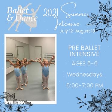 Pre Ballet Intensive
