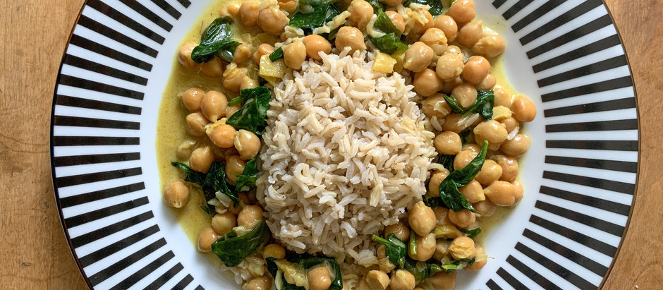 15 Minute Coconut Chickpea Curry