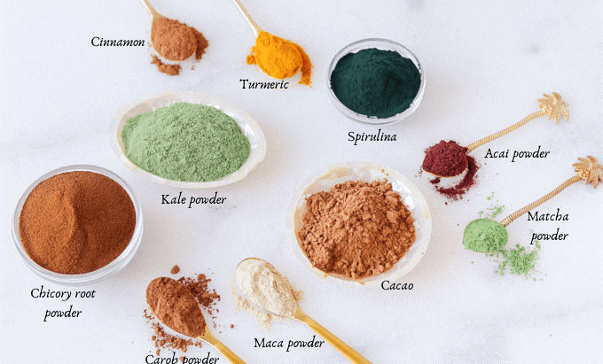 10 Super-food Powders For Your Pantry + How to Use Them
