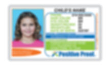 Child I.D. Card. Essential identification product