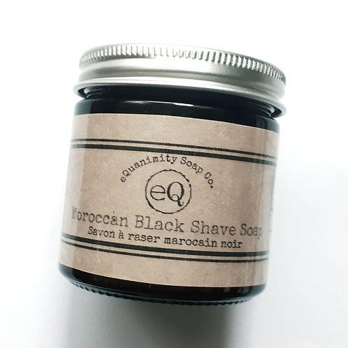 Moroccan Black Shave Soap