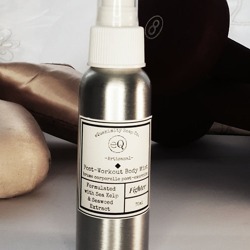 Post-Workout Body Mist -Fighter Blend ALCOHOL -FREE