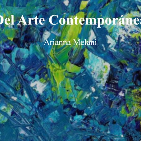 Del arte contemporánea; Arianna Melani