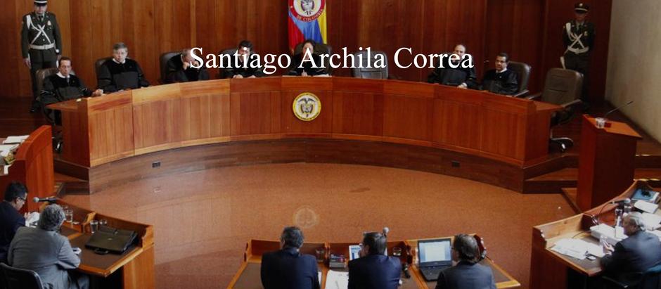 AHÍ LES DEJO…; Santiago Archila Correa